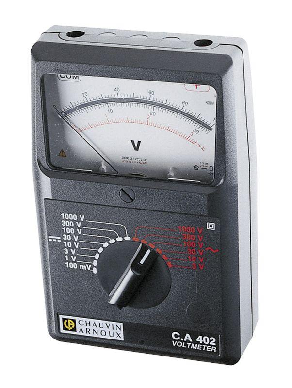 Analógový voltmeter C.A 402