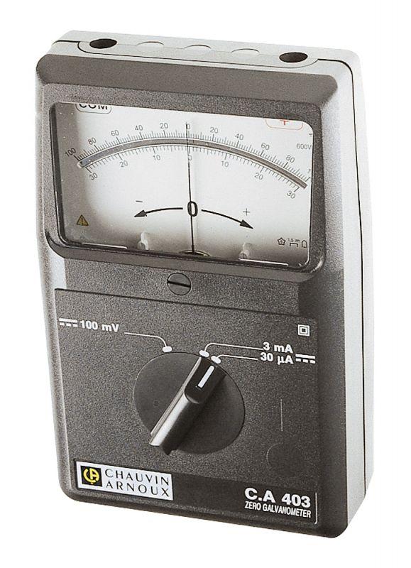 Analógový galvanometer C.A 403