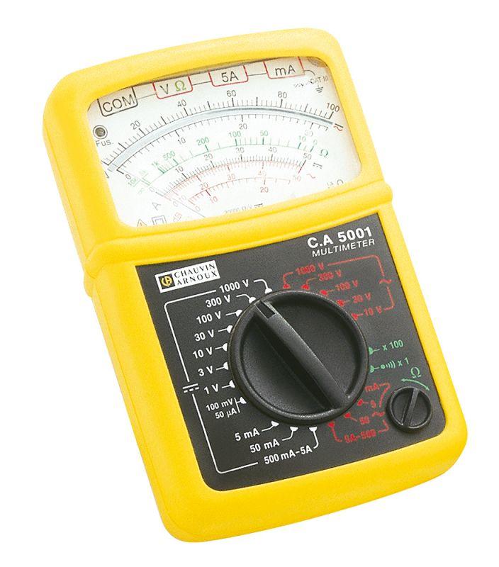Ručičkový multimeter C.A 5001C