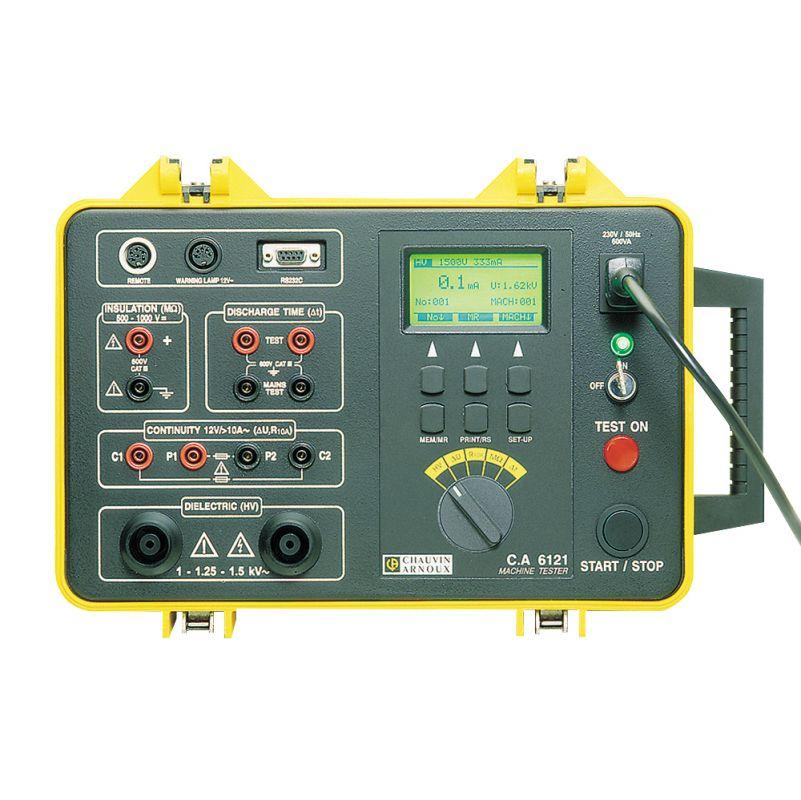 Tester elektrickej bezpečnosti strojov C.A 6121