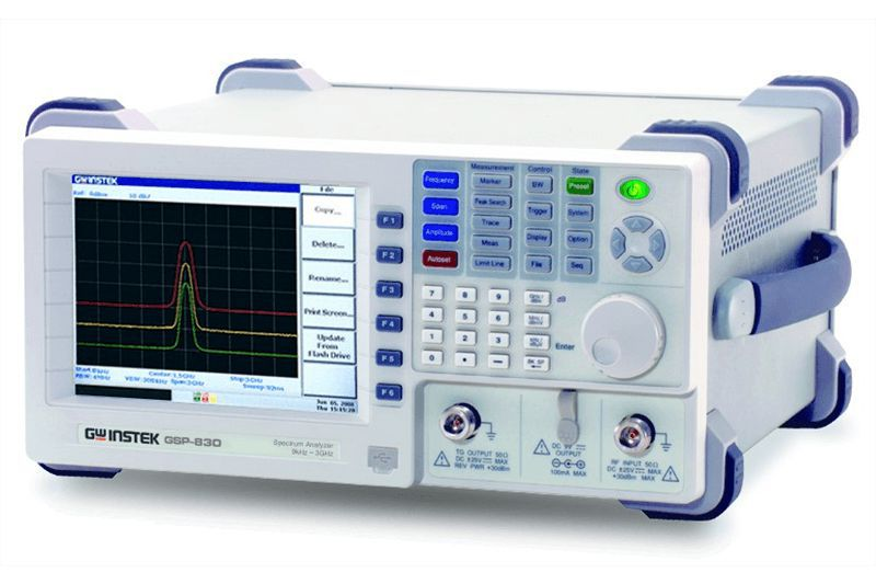 Spektrálny analyzátor GSP-830