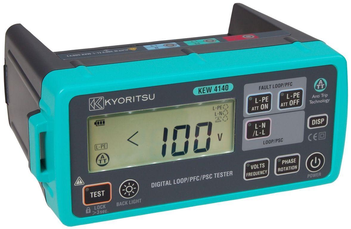 Tester impedancie slučky KEW 4140
