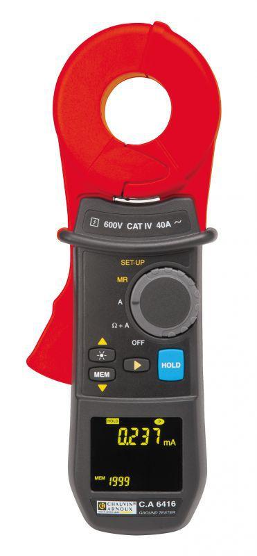 Kliešťový merač zemného odporu C. A 6416
