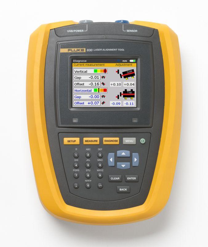 Prístroj pre nastavenie súosovosti Fluke 830
