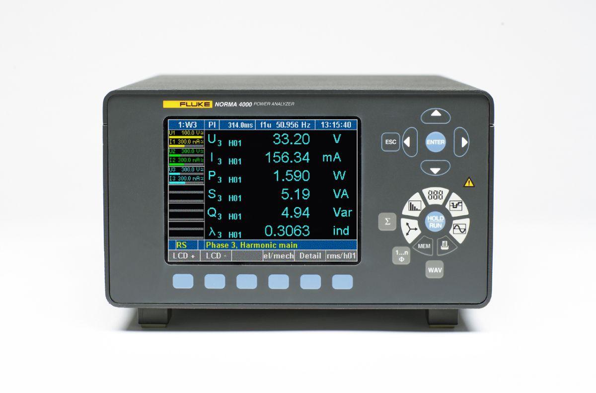 Analyzátor harmonických FLUKE Norma 4000