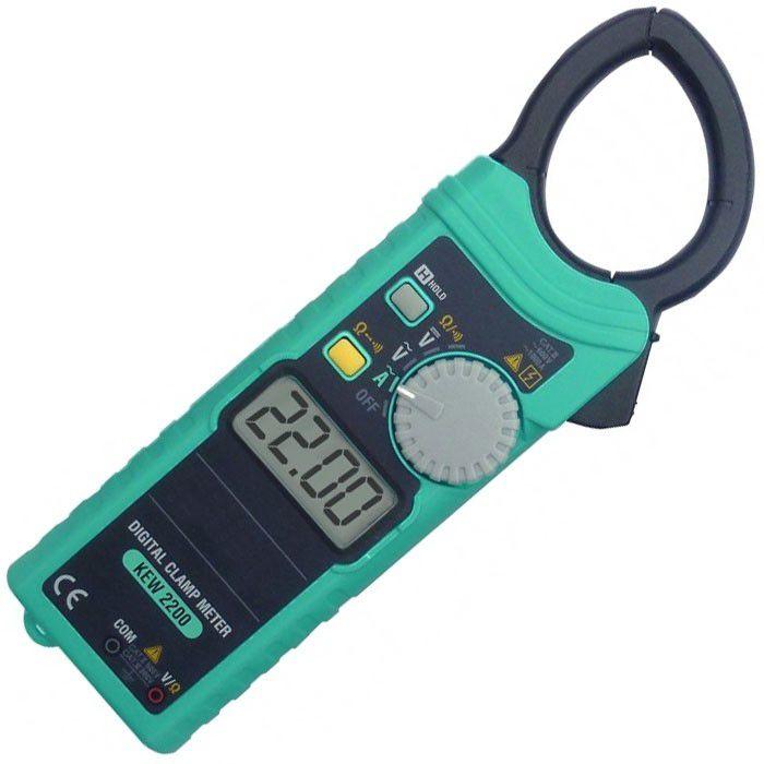 Digitálny kliešťový ampérmeter KEW 2200