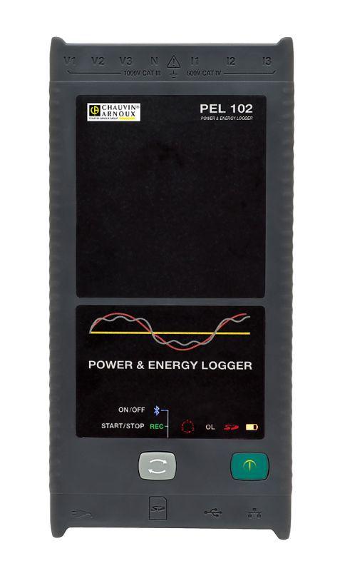 záznamník amonitor energie PEL102