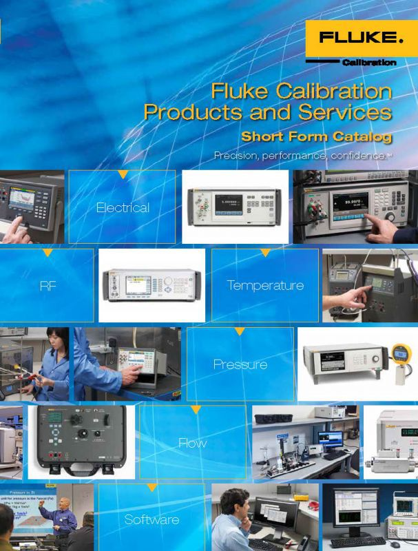 Katalog Fluke Calibration