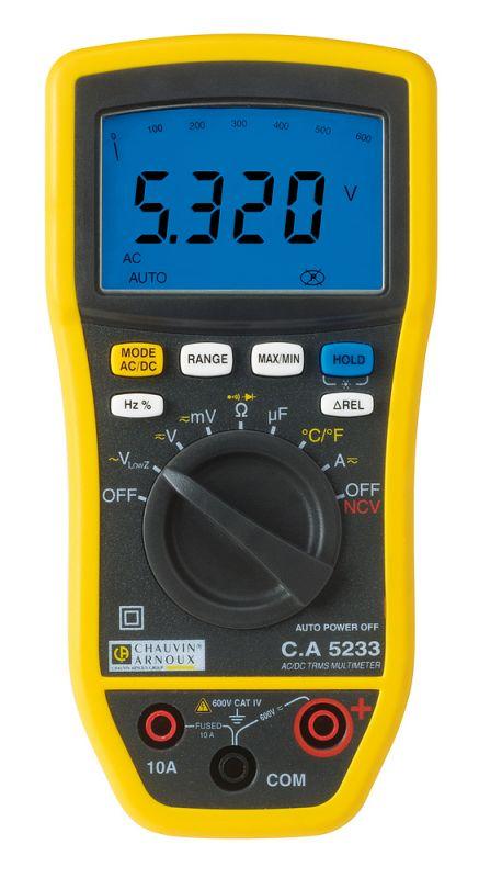 Multimeter TRMS C. A 5233