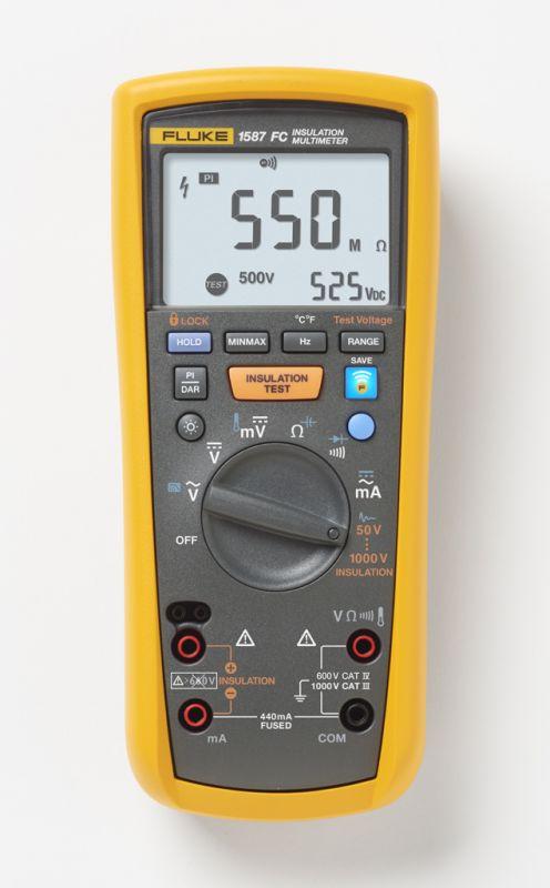 Digitálny multimeter FLUKE 1587 FC