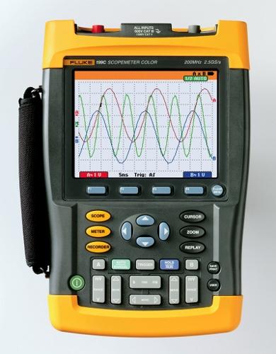 Měření výkonu scopemetrem Fluke 190 fluke_199.jpg
