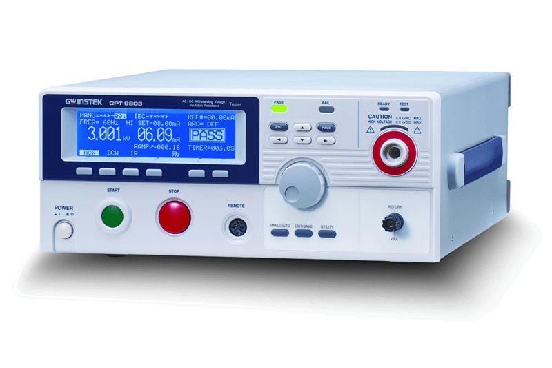 Tester elektrické bezpečnosti GW Instek GPT řady 9800