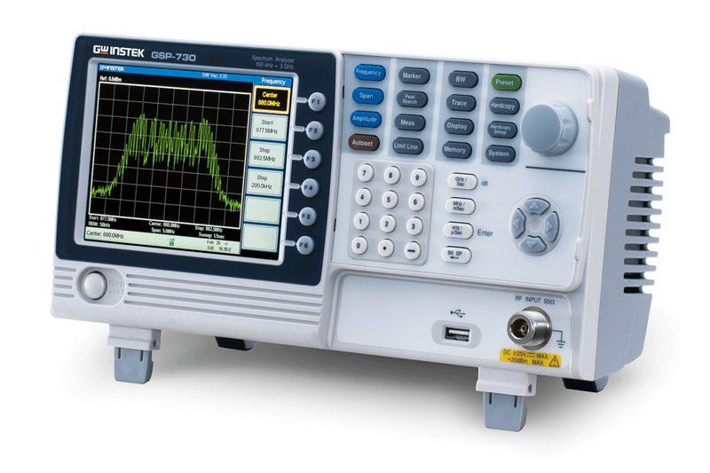 3GHz spektrálny analyzátor GW Instek GSP-730