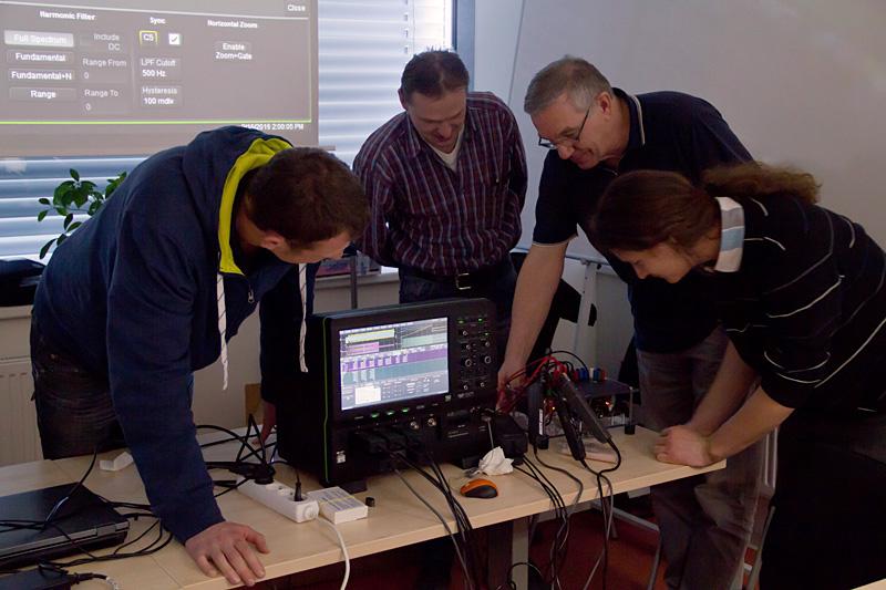 Seminar Meranie pri vývoji atestovaní elektrických pohonov avýkonovej elektroniky 16.5.