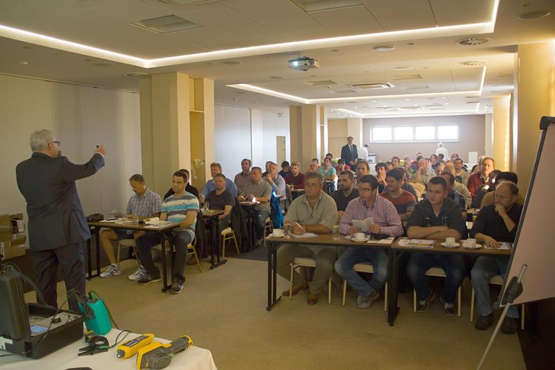 Podzimní seminář Nejlepší praxe při měření na motorech apohonech při provozu aúdržbě na Slovensku