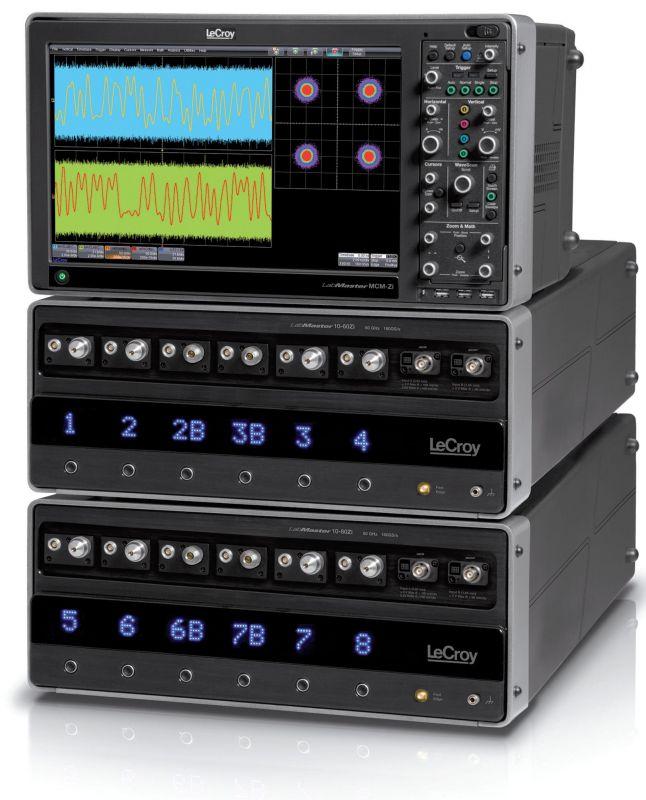 Modulární 60GHz real-time osciloskop LeCroy LabMaster 10Zi řídicí_jednotka_a_dvě_60ghz_akviziční_jednotky_modulárního_osciloskopu_lecroy.jpg