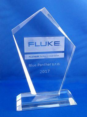 Plaketa Platinový distributor Fluke