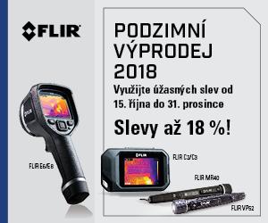 Využite úžasných zliav na termokamery FLIR!
