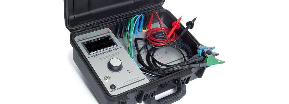 Servisný tester elektrických motorov MotorAnalyzer 2