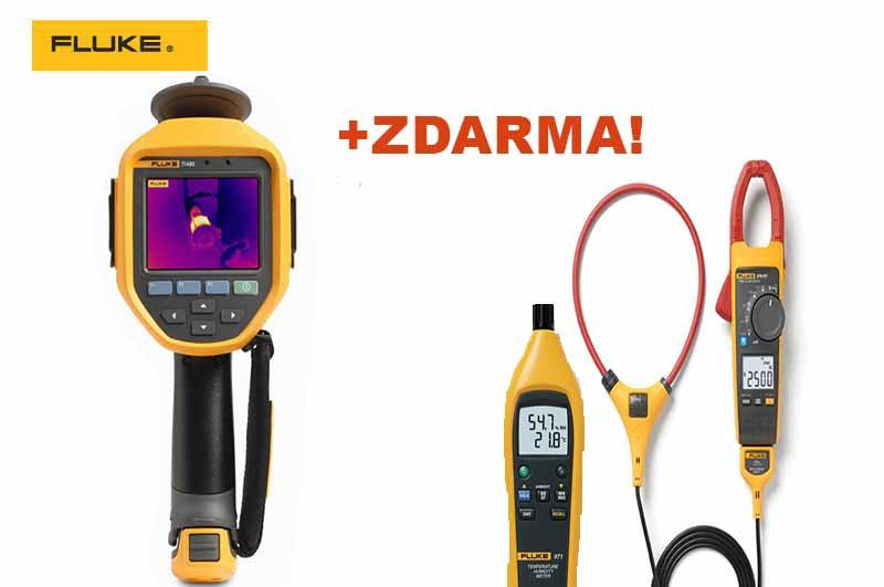 Kúpte termokameru Fluke Ti480 PRO azískate multimeter aj teplomer svlhkomerom zadarmo!