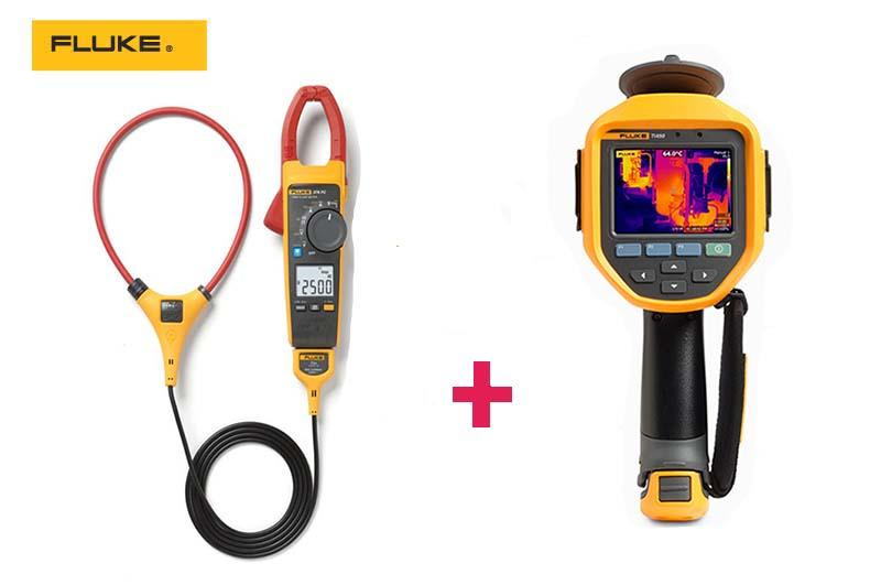 Akčná ponuka! Kúpte si termokameru Fluke Ti450 PRO azískajte kliešťový multimeter ZADARMO!