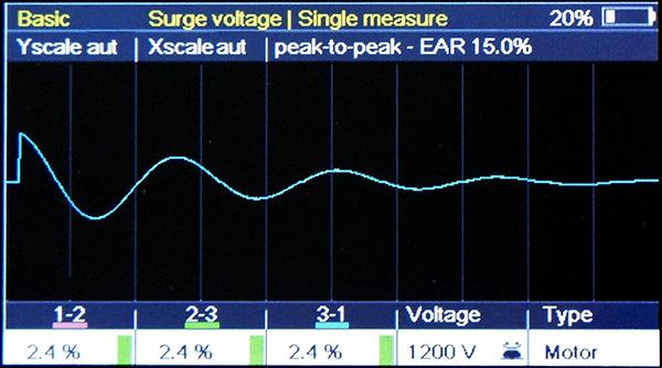 Morotanalyzer2 test rázovou vlnou