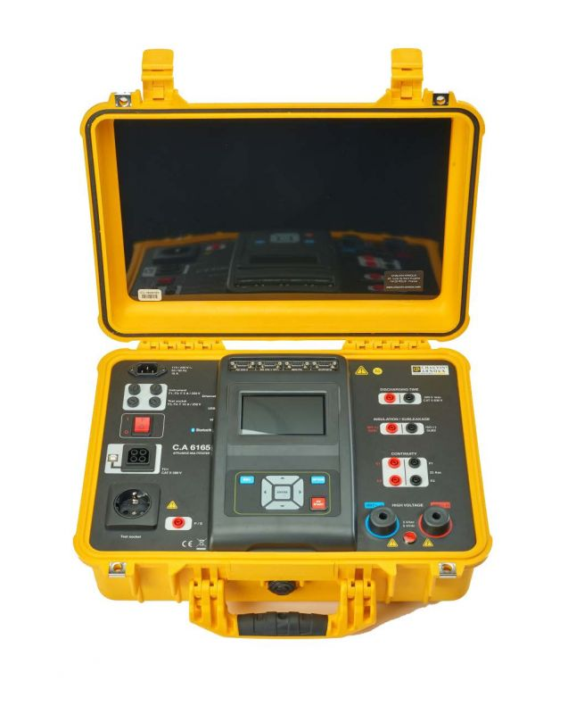 C.A 6165 - tester strojov