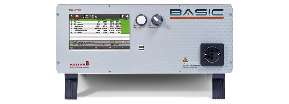 Tester bezpečnosti elektrických prístrojov azariadení Schleich GLP2 Basic