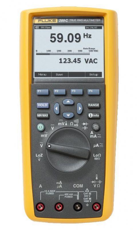 11. díl - Přehled vhodných přístrojů pro měření při údržbě motorů apohonů fluke_289_w.jpg