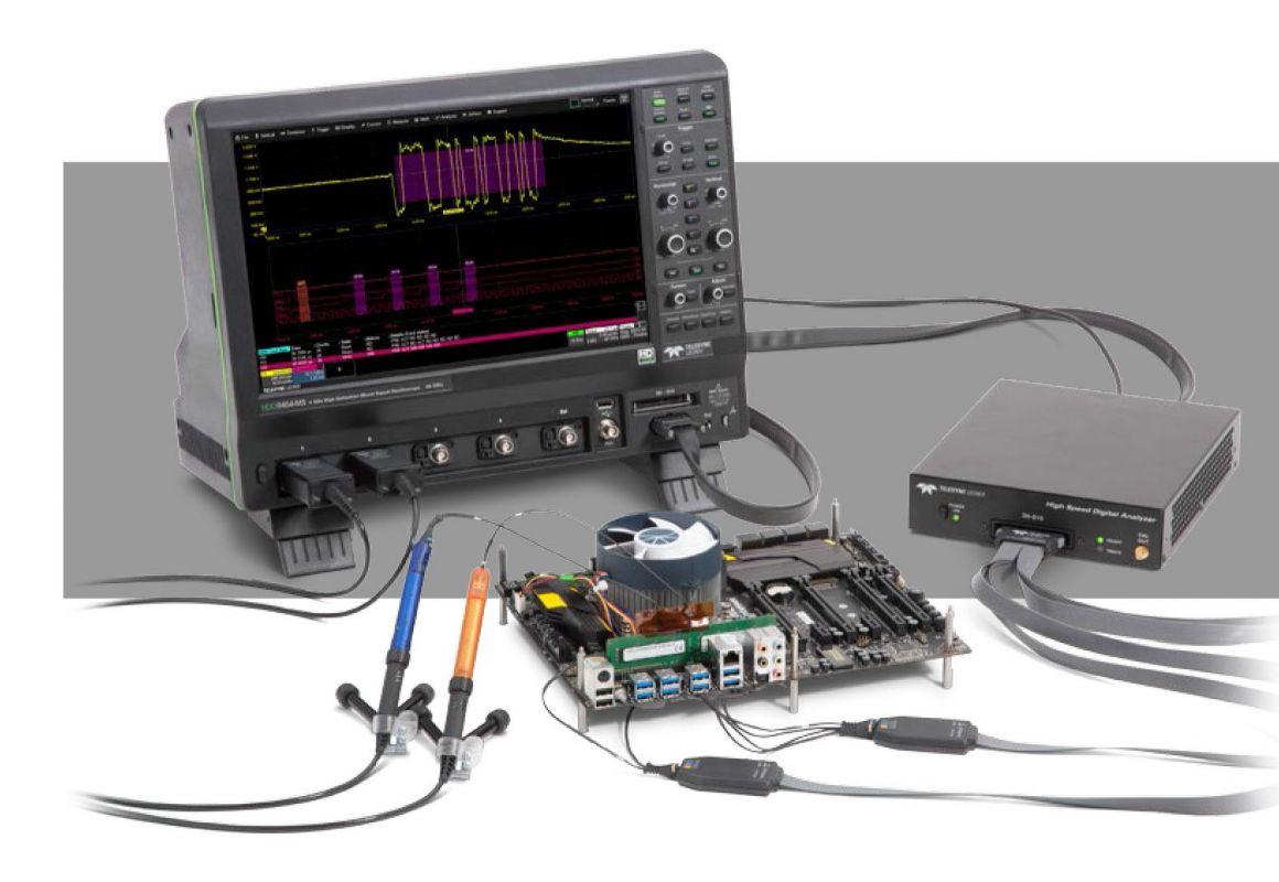 HDA125 Vysokorýchlostný digitálny analyzér Teledyne LeCroy