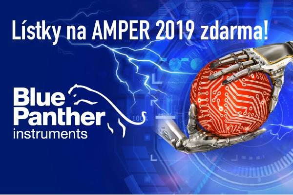 Lístky na Amper 2019 zadarmo sBlue Panther