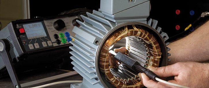 Motoranalyzer hledání zkratu sondou