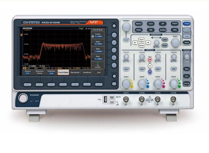 Osciloskop GW Instek MDO 2000E