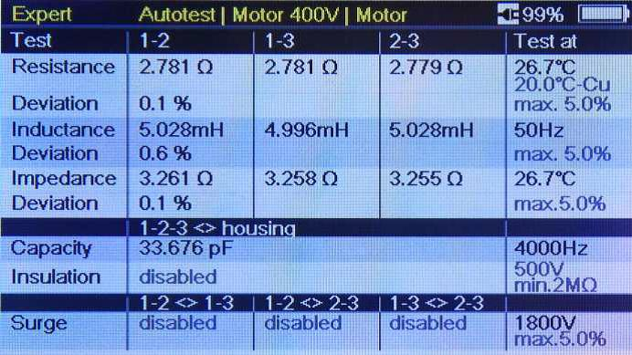 Morotanalyzer2 výsledek autotestu