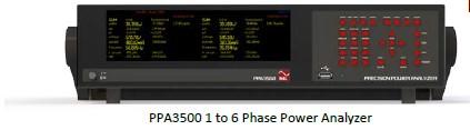 1 až 6 fázový analyzátor výkonu PPA3500