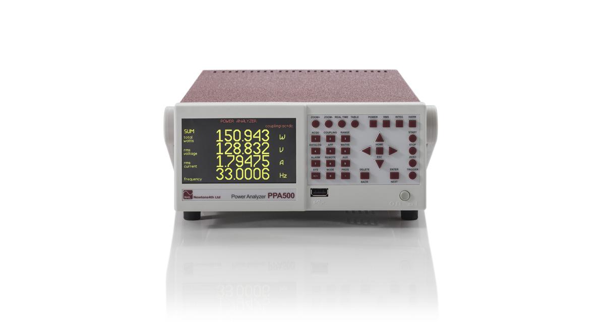 Analyzátor kvality výkonu radu N4L PPA500