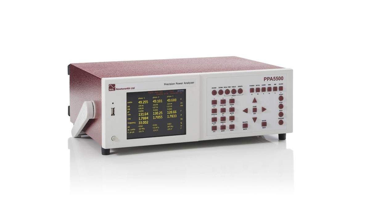 Analyzátor kvality výkonu N4L PPA5500-TE Edícia Transformer