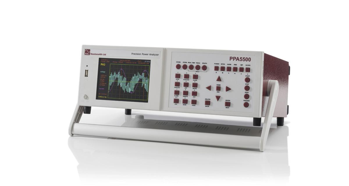 Analyzátor kvality výkonu N4L PPA5500