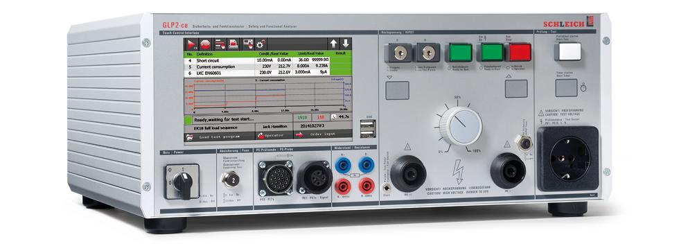 Tester elektrickej bezpečnosti Schleich GLP2-ce modular