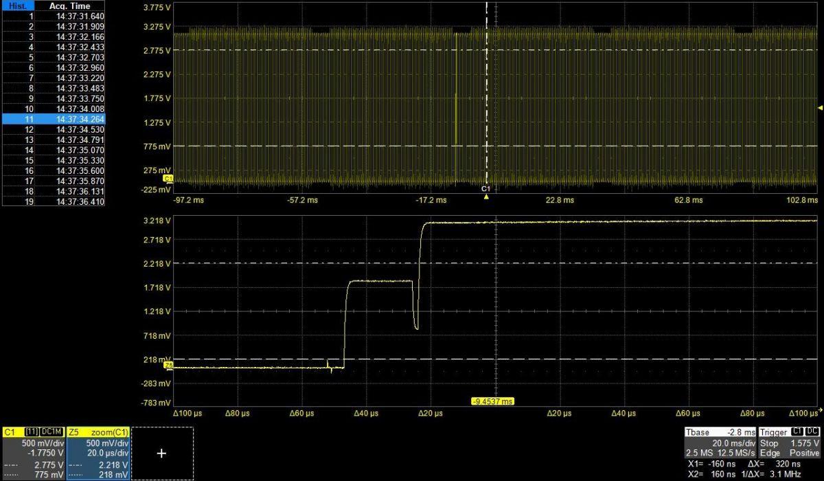 6. díl - Detekce aměření anomálií na digitálním osciloskopu teledy_lecroy_osscilocope_signal_6.jpg