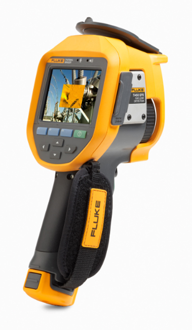 Detektor úniku plynu ainfrakamera Fluke Ti450SF6