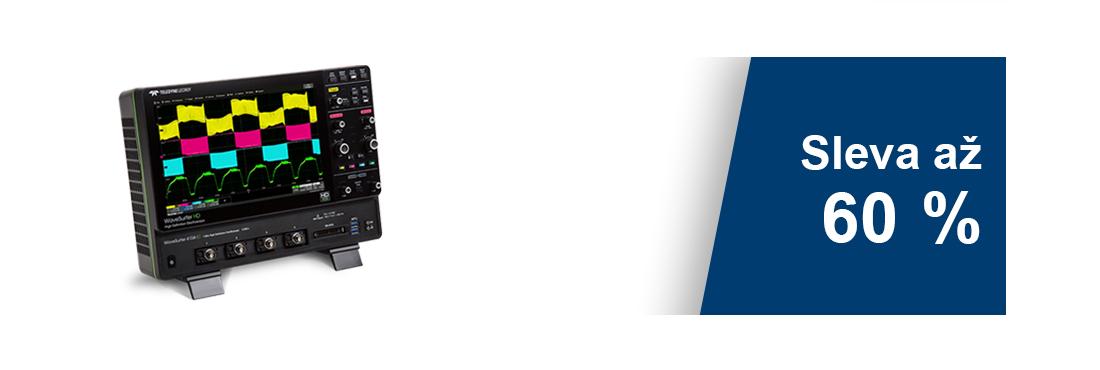 Akcia: 12bitový osciloskop TeledyneLecroy WaveSurfer 4000HD srozšíreniami zadarmo