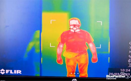 Video - Měření teploty zaměstnancům - Flir