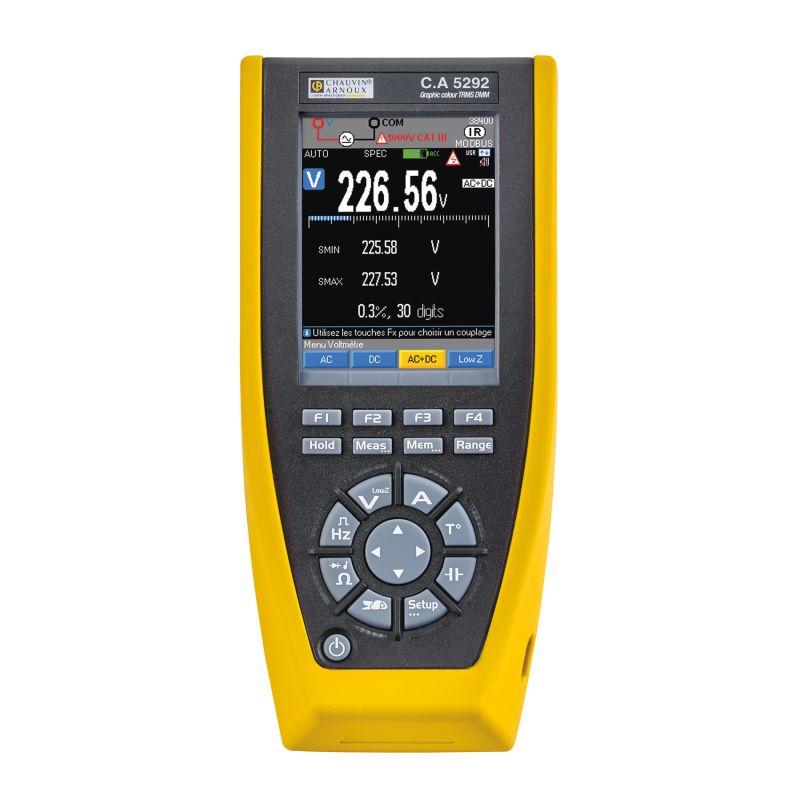 Digitální multimetr C.A. 5292, C.A. 5293, C.A. 5293 BT, C.A. 5292 BT ca5292-f.jpg
