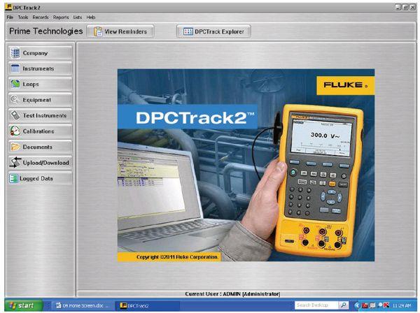 Kalibrační SW Fluke DPC TRACK