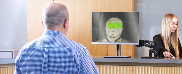 Screening teploty ľudského tela