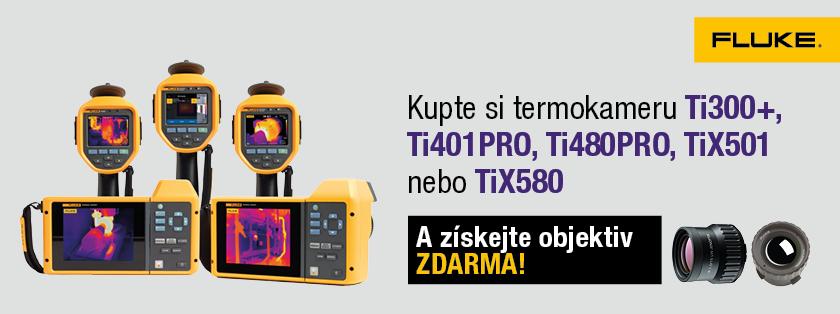 Akce: Infračervené smart šošovky zadarmo ktermokamerám Fluke