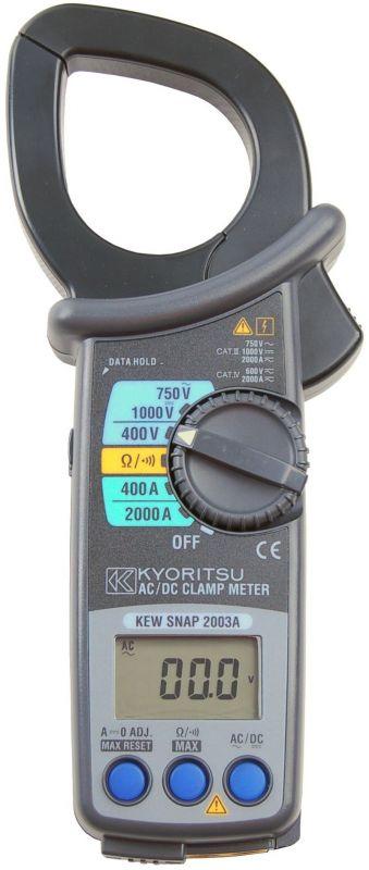 Kliešťový multimeter KEW 2003A