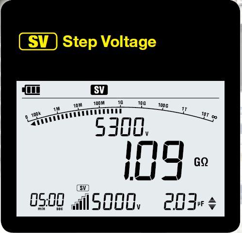 KEW 3127 step