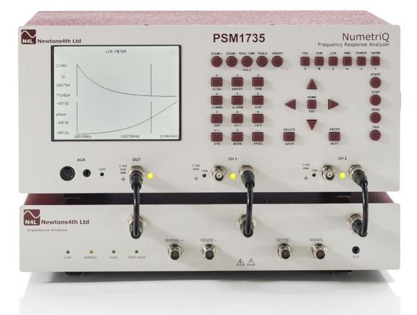 Analyzátor frekvenčnej odozvy PSM1735